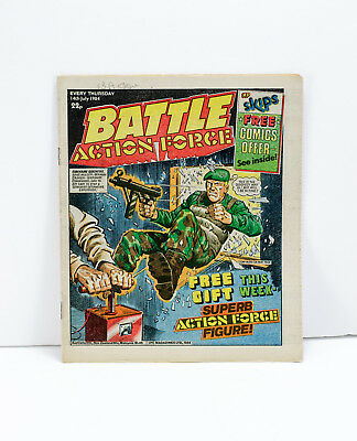 Battle Action Force Comic - 14th July 1984 - Very Good Condition