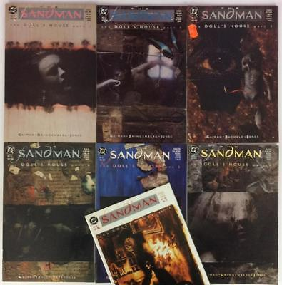 Sandman #10 to #16 (DC 1989) Dolls House all 7 parts.  High Grade