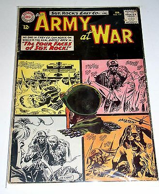 SGT ROCK in OUR ARMY AT WAR #127  2nd All Sgt. Rock DC SILVER AGE Free Shipping