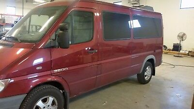 2006 Dodge Sprinter passenger 2006 dodge sprinter passenger van