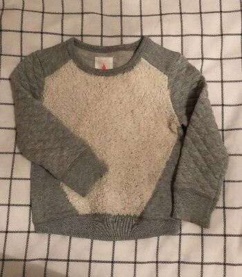 GUC Country Road Girls Jumper. Grey. Size 4