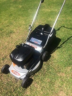 Flymo Lawn Mower  Alloy Base 6 hp 4 Stroke Briggs And Stratton Good Blades