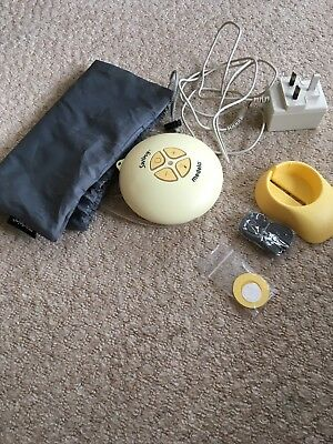 medela electric breast pump - main pump and spares - used