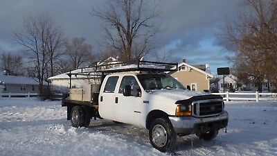 Ford 450 Flatbed - Crew Cab 7.3L diesel engine automatic Concrete form truck