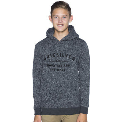 Quiksilver Boys Keller Hooded Sweatshirt in Multi-Coloured