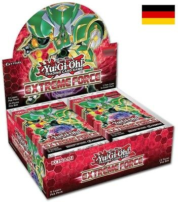 KONAMI Yu-Gi-Oh! Extreme Force - Booster Display (DE)