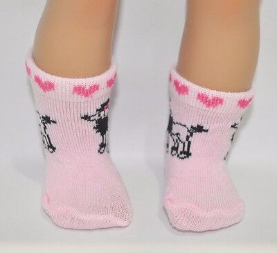 """American Girl Doll Our Generation Journey Girl 18"""" Dolls Clothes Poodle Socks"""