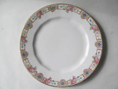 "Edwin Knowles Plaza Bread & Butter 6"" Plate Semi Vitreous China Circa 1925 USA"