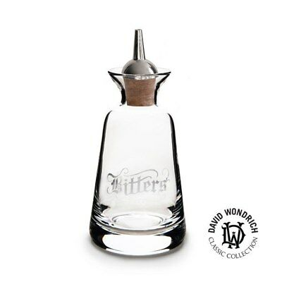 Finewell Bitters Bottle Gothic Style 90ml - Bitters/Silver plated dasher top