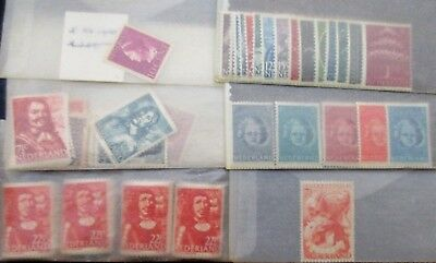 Lot of Netherland Postage Stamps in 27 Packets ,  Unchecked,