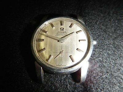 Vintage Swiss made Omega Seamaster automatic 17 jewel parts or repair