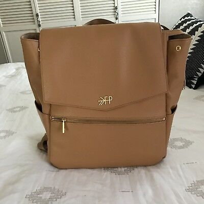 Freshly Picked Butterscotch Leather Diaper Bag
