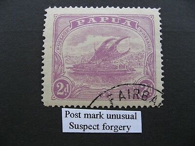 Papua, Lakatoi SG86 used Suspect postmark, with low start price of $2.99