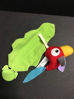 Rainforest Jumperoo Replacement Part Parrot bird Hanging Leaf Toy Fisher Price