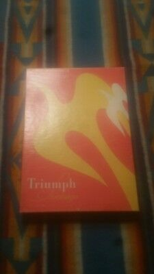 vintage stockings seamed triumph 2 pair size 10 new old stock