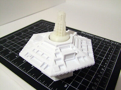 Custom 3D printed Doctor Who spring-action 5th Doctor TARDIS console