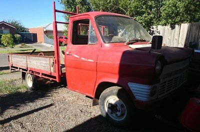 1969 ford transit, DRW cab chassis. 2.3 pinto engine, 5 speed. escort cortina