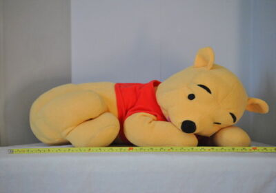 Disney WINNIE THE POOH Lounging Laying Large Plush Lovey Soft Animals Dolls EC