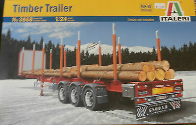 Brand New In Box - Timber Trailer No:3868 1:24 Scale - Timber Not Included - Gr8