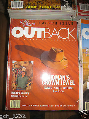 Outback Magazine Collection-100 - Issues  No 1 - No 100