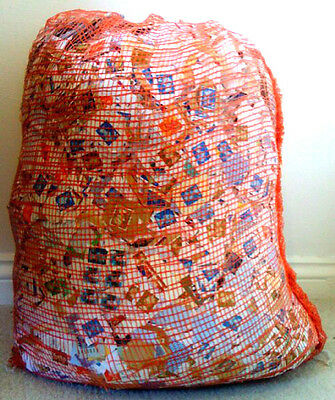1Kg Used Kiloware Charity Collected Uk  Decimal Stamps On Paper