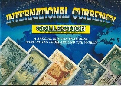 International Currency World Note Collection Wonderful Kids Starter Folder