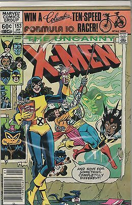 Uncanny X-Men 153 Marvel Comics Bronze Age, Jan 1982, Kitty Pryde
