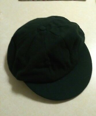 vintage australian baggy green cricket cap hat supplied by mick simmons sydney