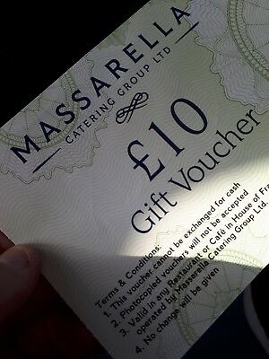 £20 House of Fraser Restaurant Gift Voucher