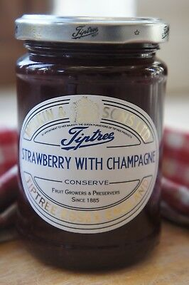 **WILKIN & SONS LTD** Tiptree Strawberry & Champagne Extra Jam 340g Jar