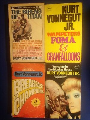 Kurt Vonnegut Jr - Four Novels
