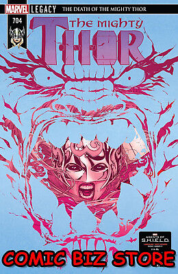 Mighty Thor #704 (2018) 1St Printing  Bagged & Boarded Marvel Legacy Tie-In