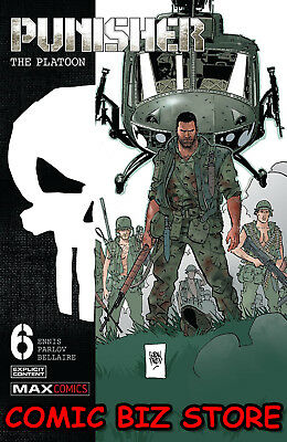 Punisher The Platoon #6 (Of 6) (2018) 1St Print Bagged & Boarded Marvel Comics