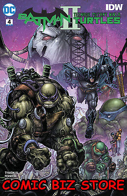 BATMAN TEENAGE MUTANT NINJA TURTLES II #4 (of 6) (2018) 1ST PRINTING TMNT DC/IDW