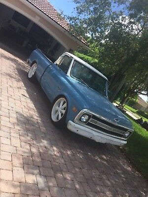 "1969 Chevrolet C-10  1969 Chevy C-10 Short Bed slammed 22"" Wheels"