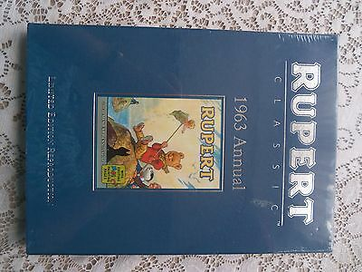 Rupert Annual 1963 Reproduction Limited Edition Mint Shrink Wrapped