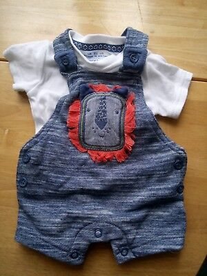 Baby boy Romper dungarees upto 1month