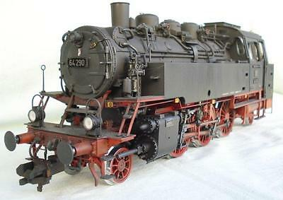 Hübner 1 Gauge Steam Locomotive BR 64 290 Digital Sound Aged MIP Märklin
