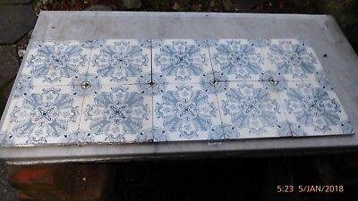 10  Victorian Washstand  Tiles   By Flaxman .