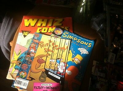 vintage comic magazines lot of 3