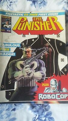 Collection of 15 Large Marvel Comics, The Punisher