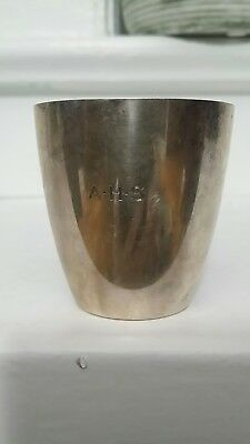 Antique Tiffany & Co Beaker Cup American Sterling Silver 925