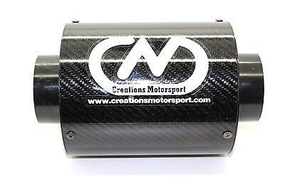 Universal Carbon Fibre Airbox Performance Induction Air Filter W 132mm x  H125mm