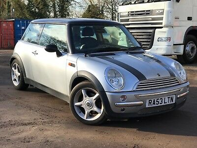 2003 Mini Cooper 1.6 Petrol Silver Part Exchange To Clear