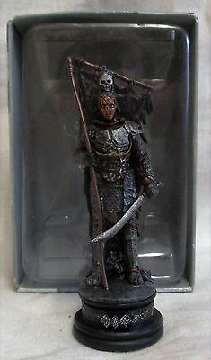 LORD of the RINGS ORC Lieutenant CHESS FIGURE in BOX & MAG #18 Eaglemoss UK
