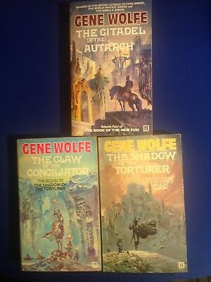 Gene Wolfe - The Book of the New Sun Volumes 1, 2 and 4