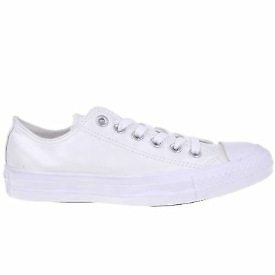 b1efc4336abfca Converse Chuck Taylor All Star Ox White Womens Canvas Metallic Low-top  Trainers