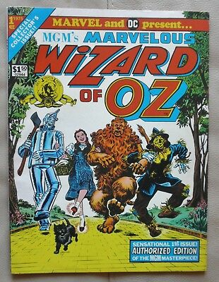 MGM's Marvelous Wizard of Oz # 1 Marvel and DC 1975 Treasury Edition
