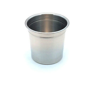 1-1/2 Quart Heavy Duty, Stainless Steel Bucket measures 5.5 tall x 5 Inch
