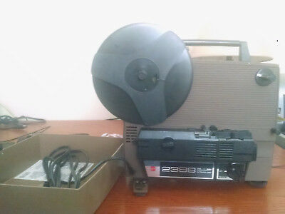 GAF Ansco 2388 8mm and Super 8mm - Dual 8mm - Movie Film Projector
